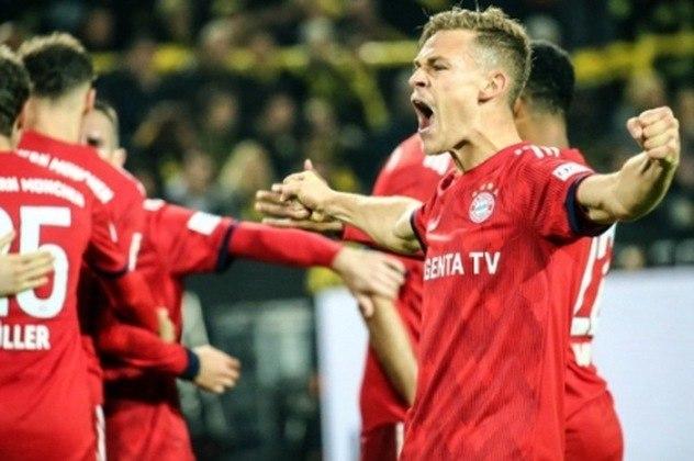 3 - Joshua Kimmich (Volante do Bayern de Munique) - 75 milhões de euros.