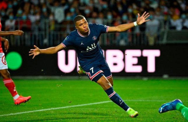 3° - Kylian Mbappé (FRA): 116 gols em 199 jogos. (Hoje: 22 anos / Time atual: PSG)