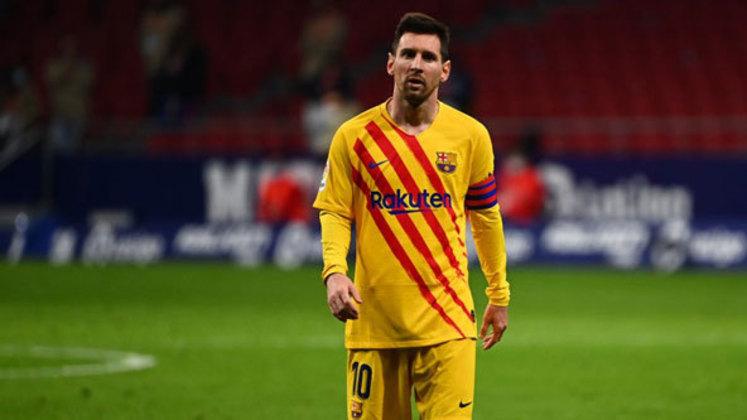 3º lugar: Lionel Messi - Atacante - Argentina - Barcelona - Valor: 80 milhões de euros (aproximadamente R$ 478,87 milhões)
