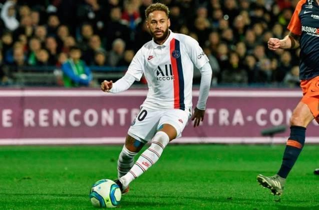 3 - Neymar (PSG-FRA): R$ 394,9 milhões anuais.