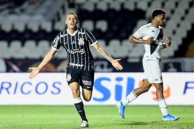 3 – O rival Corinthians aparece em terceiro, com 2,59 milhões de interações. A equipe venceu o Vasco fora de casa por 2 a 1 no dia 21 de outubro.