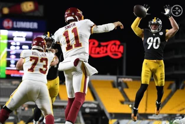 3º Pittsburgh Steelers (10-2) - Uma derrota que surpreendeu a todos e expôs alguns defeitos dos Steelers. A vantagem é que há tempo para correção.