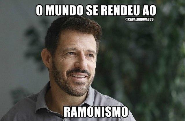 3. RAMONISMO: foi a primeira grande febre nesse Brasileirão 2020. O treinador levou o Vasco à liderança do campeonato e fez com que os torcedores sonhassem alto