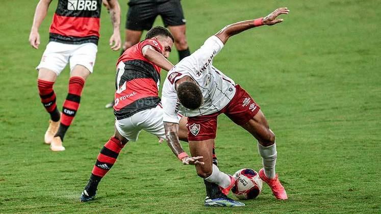 3ª rodada: Flamengo 0x1 Fluminense (Maracanã - 14/03/2021)