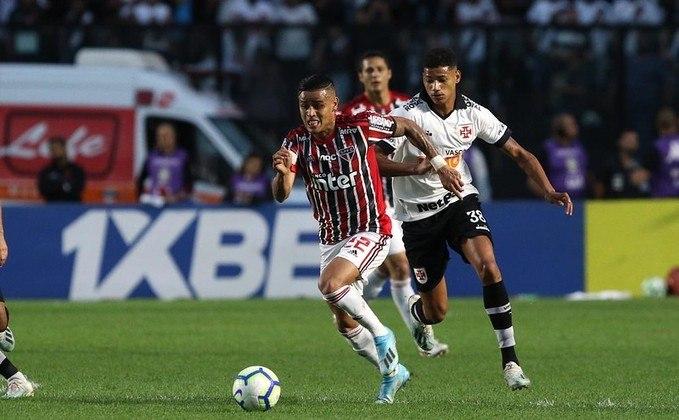 3ª rodada - Vasco x São Paulo - No domingo seguinte (16/8), às 16h, o São Paulo visita São Januário, onde foi derrotado por 2 a 0 em 2019. No Morumbi, o Tricolor venceu o Vasco por 1 a 0 no último Brasileirão.