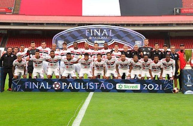 3° - São Paulo (17,12 milhões de torcedores) - Dois títulos: Uma Copa Sul-Americana (2012) e um estadual (2021).