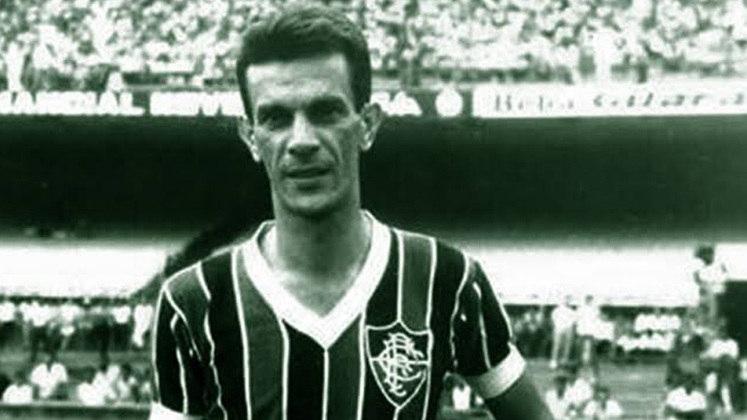 3 - Telê  (1950 - 1961)  - 559 jogos com a camisa do Fluminense.