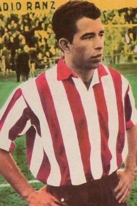 3º - Vavá - 1 gol a cada 116 minutos - 8 gols em 930 minutos - clube: Atlético de Madrid