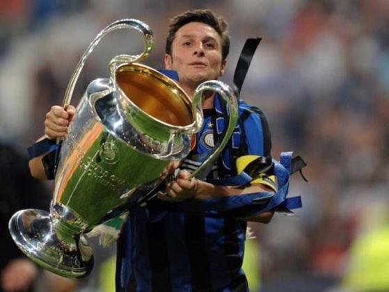 3º - Zanetti - 619 jogos - Clubes que defendeu na Itália: Inter de Milão