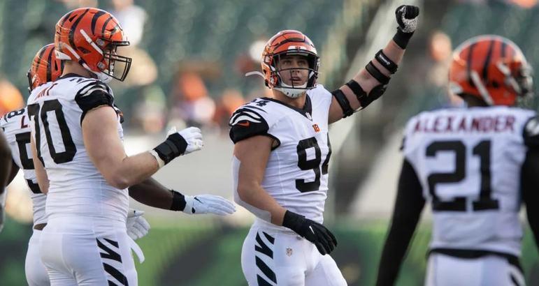 30º Cincinnati Bengals: A perda de Joe Burrow foi duro golpe na franquia. Sem o quarterback, o foco é pensar em um left tackle para protegê-lo melhor em 2021.