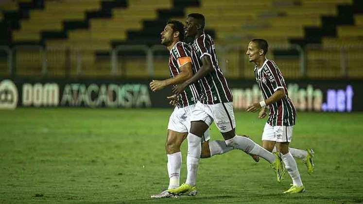 30/03/2021 - O artilheiro seguiu marcando. No clássico com o Vasco, ele garantiu o empate por 1 a 1 após marcar no início do segundo tempo.