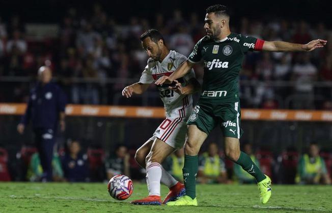 30/3/2019 - São Paulo 0x0 Palmeiras - jogo de ida da semifinal do Campeonato Paulista