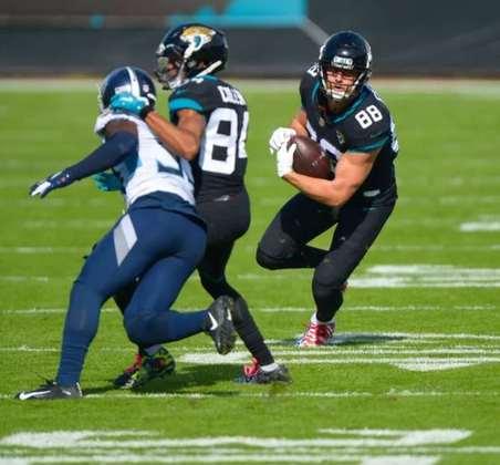 31º Jacksonville Jaguars (1-12): Uma temporada para ser esquecida. Jags está a caminho de selecionar um dos dois melhores quarterbacks do College Football. E renovar a esperança da franquia.