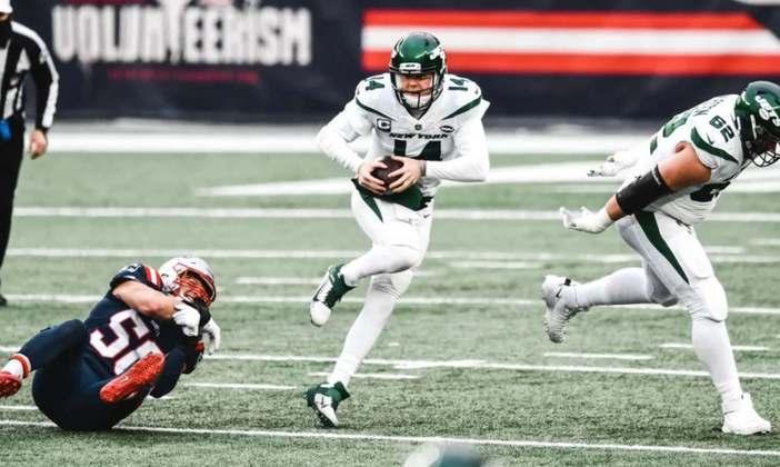 31º New York Jets (2-14): Mais uma derrota contra os Patriots para encerrar um ano terrível com um sabor ainda mais amargo na boca.