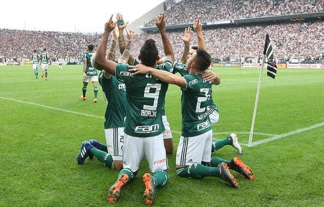31/3/2018 - Corinthians 0 x 1 Palmeiras - Arena Corinthians - Final Paulistão-2018: No primeiro jogo da final estadual, com gol de Borja, o Verdão saiu em vantagem para decidir o confronto no Allianz.