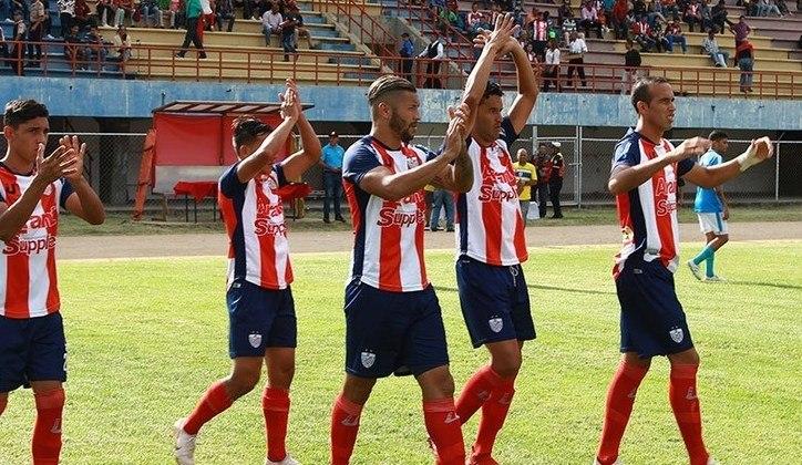 32 - Estudiantes de Mérida: no grupo F, o clube vale 5,25 milhões de euros (R$ 33,02 milhões)