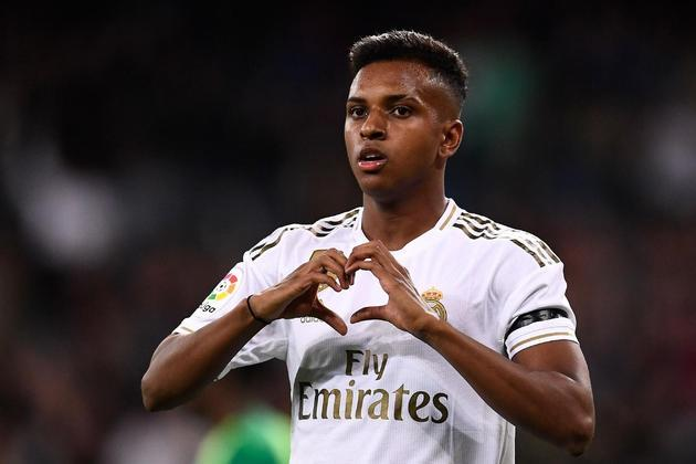 32º lugar: Rodrygo (Real Madrid) - 2001