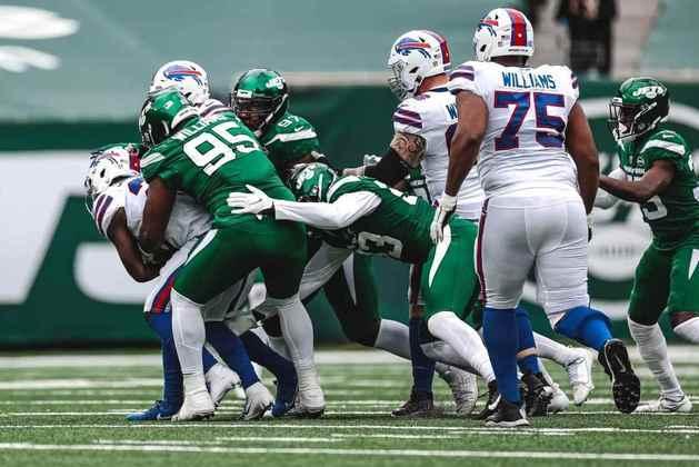 32 - New York Jets: O pior time da liga, a pior comissão técnica. E o foco em 2021. A esperança está em Trevor Lawrence.