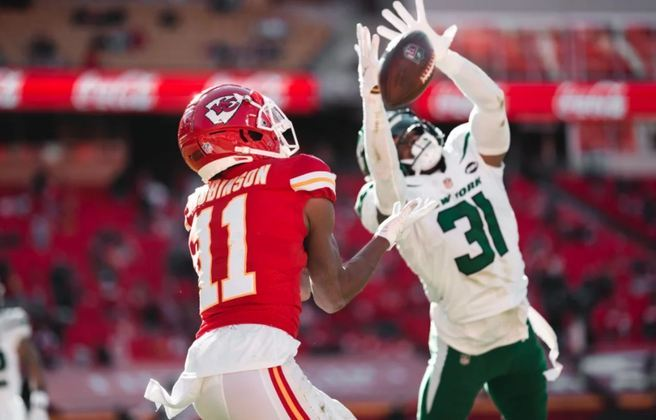 32º New York Jets - O pior time da NFL, sem esperança num futuro próximo e com os olhos no College Football e nas atuações de Trevor Lawrence.