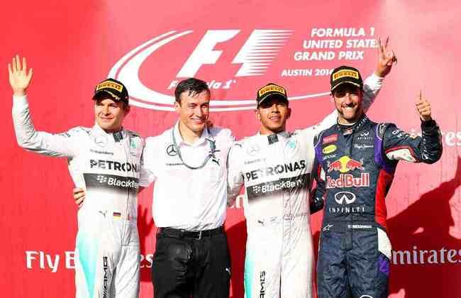 32 - Outra corrida em Austin, mais uma vitória de Lewis Hamilton. A 32ª na carreira do britânico