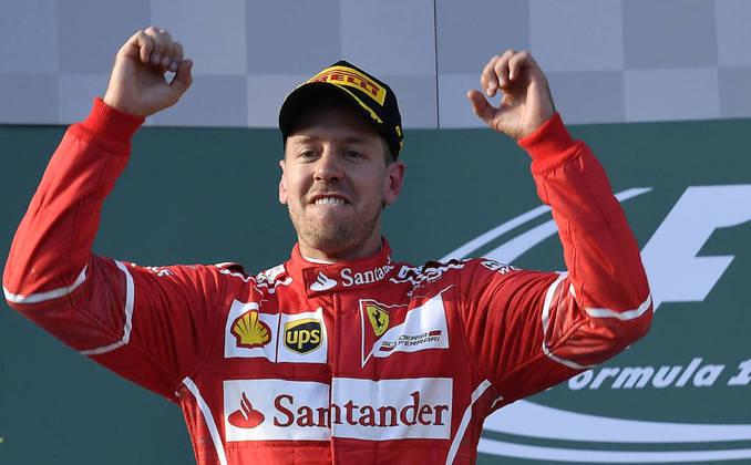 33) Sebastien Vettel (Espanha) - Fórmula 1