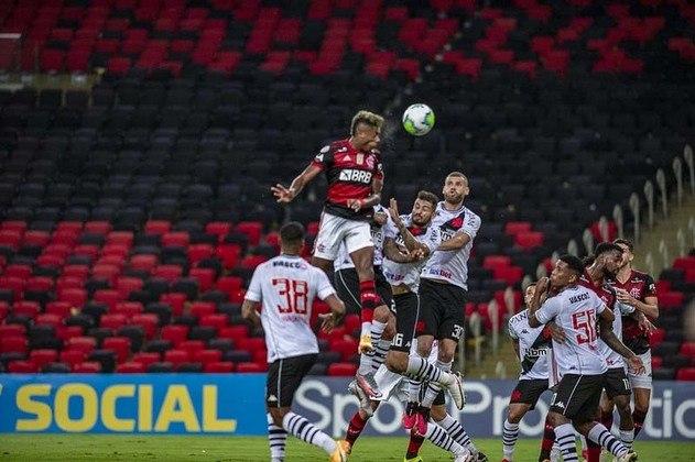 34ª rodada) Flamengo 2x0 Vasco, no Maracanã, em 4 de fevereiro de 2021