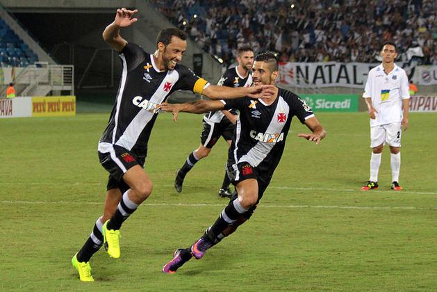 34º - Santos-AP 0x2 Vasco - Copa do Brasil 2017 - De pênalti, Nenê abriu o placar na estreia da equipe na competição nacional naquela temporada