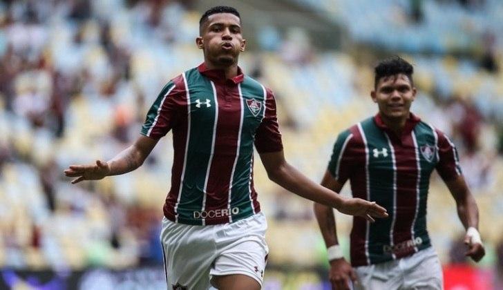 37º - Marcos Paulo - Joia do Fluminense, o atacante de 19 anos se destacou, depois de quatro gols marcados na segunda metade do Brasileirão 2019, ajudando seu time a se manter na Série A.