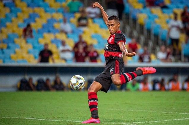 38 – Pedro Rocha, do Flamengo, aparece com 861 mil seguidores em seu Instagram.