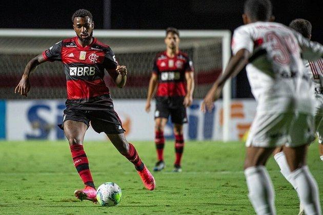 38ª rodada) São Paulo 2 x 1 Flamengo, no Morumbi, em 25 de fevereiro