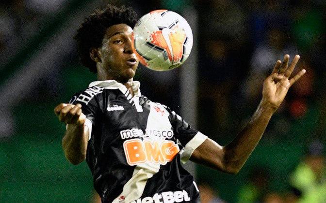 4º - Altos-PI 1x1 Vasco - Copa do Brasil 2020. No empate, Talles Magno tocou para Cano bater no canto.