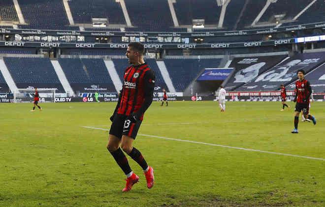 4º: André Silva (Eintracht Frankfurt) - 21 gols / 42 pontos