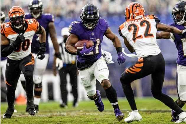 4° Baltimore Ravens: O ataque não tem encantado, mas o time está batendo todo mundo por mais de duas pontuação. Imagina se engrenar?