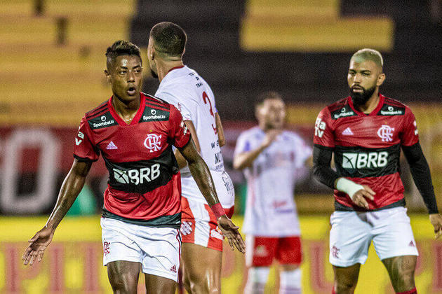 4. Bruno Henrique - 658 minutos (9 jogos)