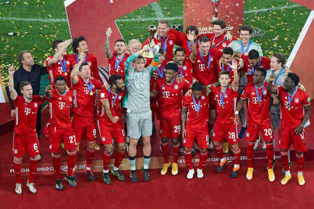 4º - Campeão alemão, o Bayern de Munique não conseguiu conseguiu manter o seu reinado na Champions, mas fica em uma posição alta no ranking