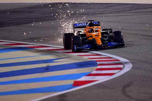 4º - Carlos Sainz (McLaren) - 7.57 - Mais um grande top-5 do espanhol em 2020.
