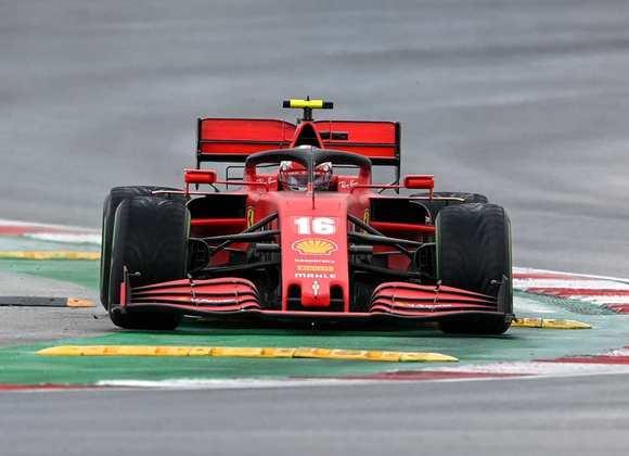 4 - Charles Leclerc (Ferrari) -  7.72 - Fazia ótima corrida até o erro que custou o pódio.