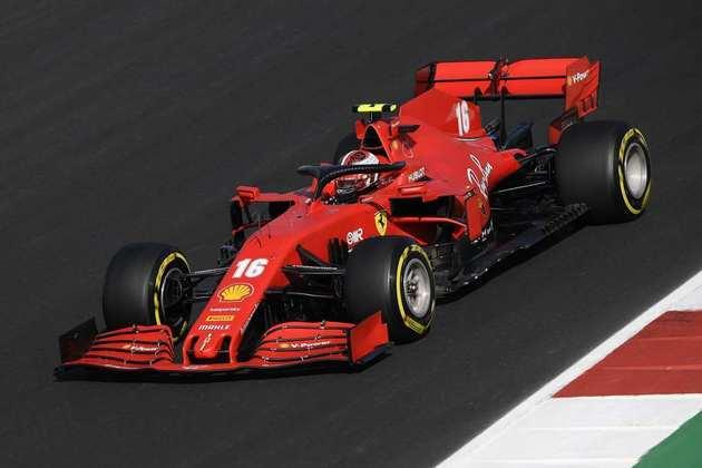 4º) Charles Leclerc (Ferrari) - 8.46 - Levou a inconstante Ferrari a mais um bom resultado na temporada 2020