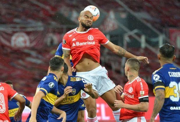 4º colocado – Internacional (37 pontos) – 23 jogos / 1,6% de chances de título; 45,3% para vaga na Libertadores (G6); 0,095% de chance de rebaixamento.