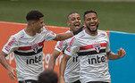 4º colocado – São Paulo (33 pontos) – 29% de chance de título; 86,4% para vaga na Libertadores (G6); 0,024% de chance de rebaixamento.