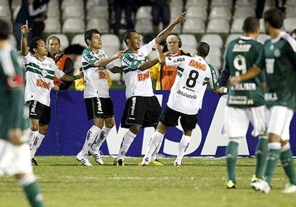 4. Coritiba (Brasil) - 24 vitórias - 2011