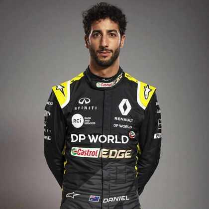 4º - Daniel Ricciardo (Renault) - 80 pontos - Melhor resultado: 3º no GP de Eifel