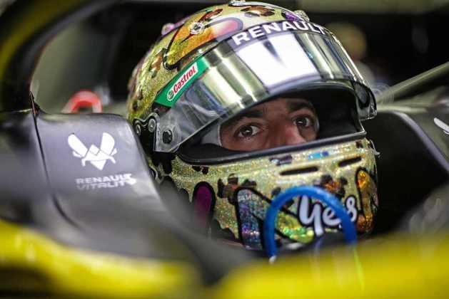 4) Daniel Ricciardo saiu da Renault e chega à McLaren em 2021. E já aparece com o quarto maior salário de todo o grid, também recebendo £ 10,19 milhões (R$ 76,3 milhões)