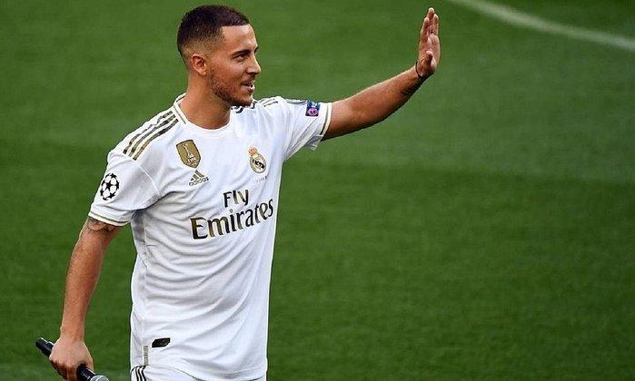 4. Eden Hazard: Meia-atacante - 80 milhões de euros (Real Madrid) - Principal contratação do Real Madrid na última temporada, Hazard ainda não justificou os 115 milhões de euros investidos nele, pois sofreu com lesões na temporada.