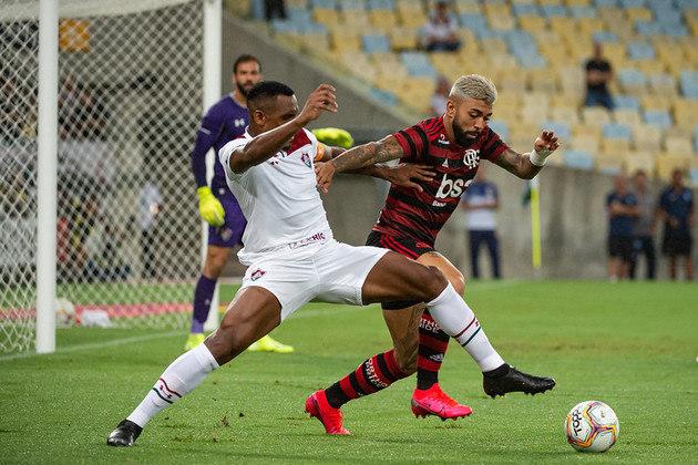 4) Fluminense 2 x 3 Flamengo - Data: 12/2/2020 - Local: Maracanã - Público pagante: 53.571 - Campeonato Carioca