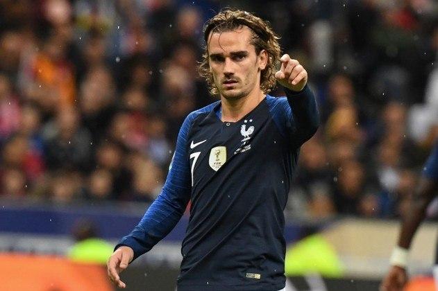4º - Griezmann - França - 6 gols em 7 jogos