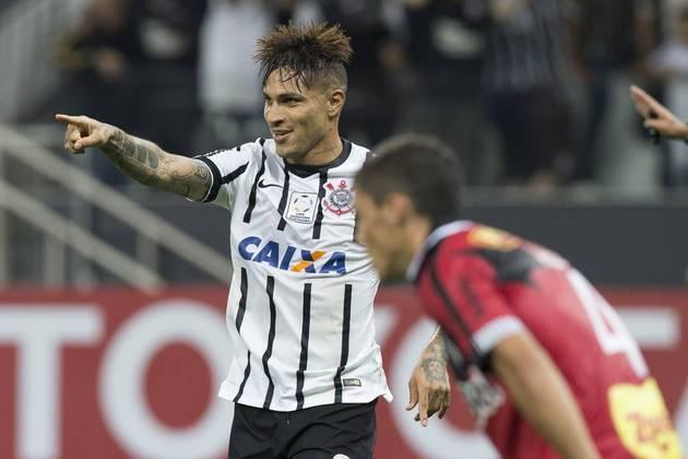 4) Guerrero - 15 gols em 27 jogos