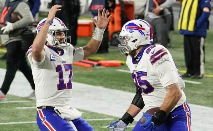 4º Josh Allen (Buffalo Bills): No momento, ninguém joga melhor que o quarterback. Ainda assim, faltou uma maior consistência para ser considerado como MVP. Sua evolução é notória.