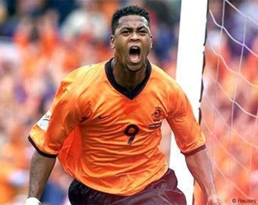4º - Kluivert - Holanda - 6 gols em 9 jogos