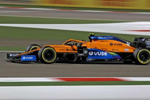 4 - Lando Norris (McLaren) - 8.08: Grande performance e fazendo a McLaren reagir.